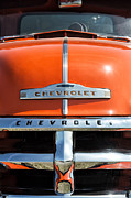Custom Chevrolet Posters - 1954 Chevrolet 3100 Pickup Poster by Tim Gainey