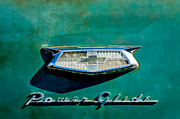 Power Photos - 1954 Chevrolet Emblem by Jill Reger