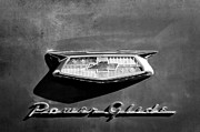 Power Photos - 1954 Chevrolet Power Glide Emblem by Jill Reger