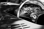 500 Photos - 1954 Ferrari 500 Mondial Spyder Steering Wheel Emblem by Jill Reger