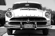 Wheel Framed Prints Posters - 1954 Hudson Hornet in Black Poster by Brooke Roby