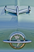 Hoodies Photo Prints - 1954 Oldsmobile Super 88 Hood Ornament Print by Jill Reger