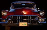 1955 Cadillac Series 62 Print by Davandra Cribbie
