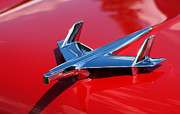Collector Hood Ornament Digital Art Prints - 1955 Chevrolet Bel Air  Print by Gordon Dean II