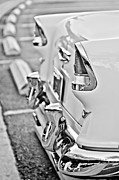 Taillights Prints - 1955 Chevrolet Belair Taillights Print by Jill Reger