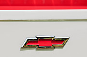 1955 Chevrolet Photos - 1955 Chevrolet Cameo Pickup Truck Emblem by Jill Reger
