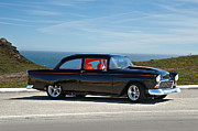 Chevy Coupe Prints - 1955 Chevy IV Print by Dave Koontz