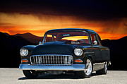 Chevy Coupe Prints - 1955 Chevy VI Print by Dave Koontz