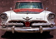 1955 Dodge In Oil Print by Steve Kelley