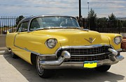 Caddy Originals - 1955 Mellow Yellow Caddy by Steven Parker