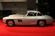 Mercedes Benz 300 Sl Classic Car Photos - 1955 Mercedes Benz 300 SL Gullwing - 5D19933 by Wingsdomain Art and Photography