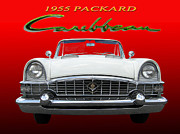 Most Photo Posters - 1955 Packard Caribbean Convertible Poster by Jack Pumphrey
