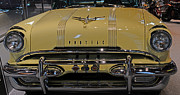 V8 Car Photos - 1955 Pontiac Chieftain Front by Paul Ward