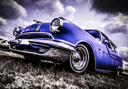 Phil Motography Clark Art - 1955 Pontiac Safari by motography aka Phil Clark