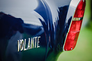 Tail Photos - 1956 Aston Martin Short Chassis Volante Taillight Emblem by Jill Reger