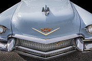 Caddy Posters - 1956 Cadilac Sedan De Ville Smiling Poster by Rich Franco