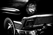 Badges Prints - 1956 Chevrolet Bel Air Print by David Patterson