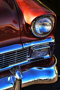 1956 Movies Prints - 1956 Chevrolet Bel Air Print by Gordon Dean II