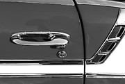 Custom Chevy Photos - 1956 Chevrolet Belair Convertible Custom V8 Door Handle by Jill Reger