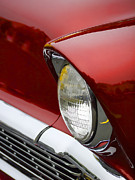 Headlamp Photos - 1956 Chevrolet Headlamp by Carol Leigh