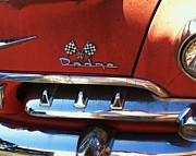 Anna Villarreal Garbis Metal Prints - 1956 Dodge 500 Series Photo 2b Metal Print by Anna Villarreal Garbis