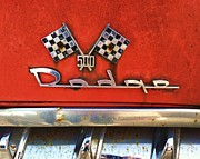 Anna Villarreal Garbis Metal Prints - 1956 Dodge 500 Series Photo 8b Metal Print by Anna Villarreal Garbis
