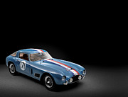 Tour Digital Art - 1956 Ferrari 250 GT LWB Berlinetta Tour de France by Sanely Great