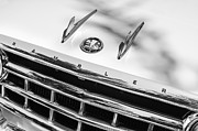 Station Wagon Framed Prints - 1956 Hudson Rambler Station Wagon Grille Emblem - Hood Ornament Framed Print by Jill Reger