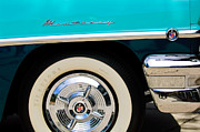 Monterey Framed Prints - 1956 Mercury Monterey 2-Door Hardtop Wheel Emblems Framed Print by Jill Reger