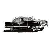 The Rambler Prints - 1956 Nash Statesman Print by Jack Pumphrey