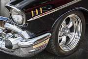 Big Block Chevy Prints - 1957 Chevrolet Bel Air Beauty Print by Rich Franco