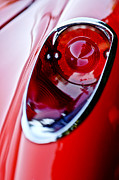 Car Detail Photos - 1957 Chevrolet Corvette Convertible Taillight by Jill Reger