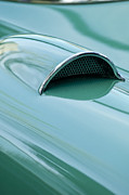 1957 Corvette Prints - 1957 Chevrolet Corvette Scoop 2 Print by Jill Reger