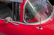 Big Block Chevy Photos - 1957 Chevy Bel Air Chrome by Rich Franco