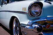 1957 Chevy Bel Air Custom Hot Rod Print by David Patterson