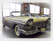 1957 Ford Fairlane Print by Steve Benefiel