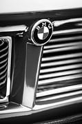 1958 Bmw 3200 Michelotti Vignale Roadster Grille Emblem -2414bw Print by Jill Reger