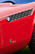 Roadster Photos - 1958 BMW 3200 Michelottie Vignale Roadster Emblems by Jill Reger