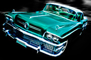 Phil Motography Clark Framed Prints - 1958 Buick Special Framed Print by Phil
