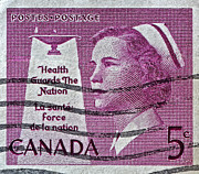 Bill Owen - 1958 Canadian Nurse Stamp