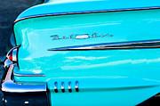 1958 Chevrolet Belair Tail Emblem Print by Jill Reger