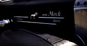 Vintage Pickups Prints - 1958 Mack B-75 Custom Pickup Print by David Patterson
