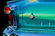 Oldsmobile Photos - 1958 Oldsmobile 98 Taillight by Jill Reger