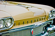 Oldsmobile Photos - 1958 Oldsmobile Super 88 Grille Emblems - Hood Orament by Jill Reger