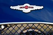 1959 Aston Martin Jaguar C-type Roadster Hood Emblem Print by Jill Reger