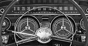 1959 Buick Lasabre Steering Wheel Print by Jill Reger
