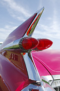 Car Detail Photos - 1959 Cadillac Eldorado Taillight- Pink by Jill Reger