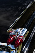 Motor Metal Prints - 1959 Cadillac Sedan De Ville Metal Print by Tim Gainey
