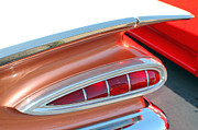 Collectible Sports Art Photos - 1959 Chevrolet Belair Taillights 2 by DJ Monteleone