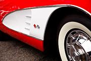 1959 Chevrolet Corvette Print by David Patterson